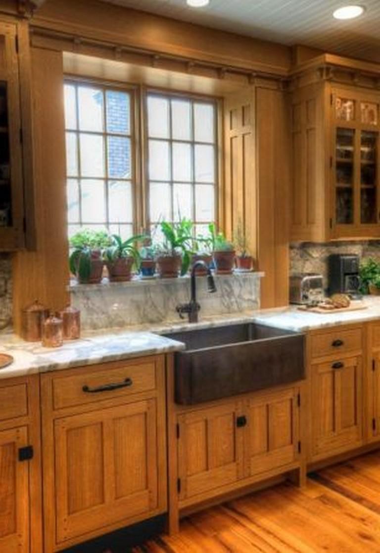 35+ Beautiful Kitchen Paint Colors Ideas with Oak Cabinet ...