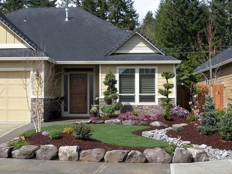 43 Amazing Front Yard Landscaping Ideas On A Budget