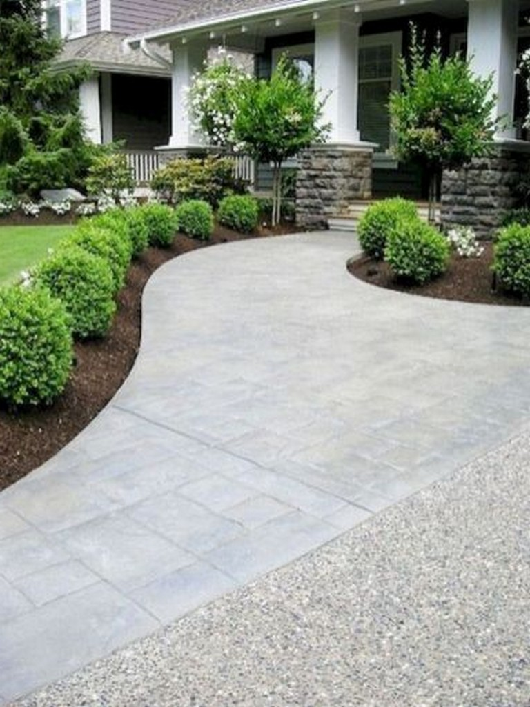 43+ Amazing Front Yard Landscaping Ideas on a Budget ... on Landscaping Ideas For Front Yard On A Budget id=69030