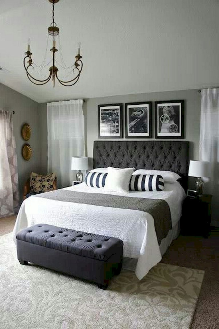 72 Luxury Black And White Bedroom Style Ideas
