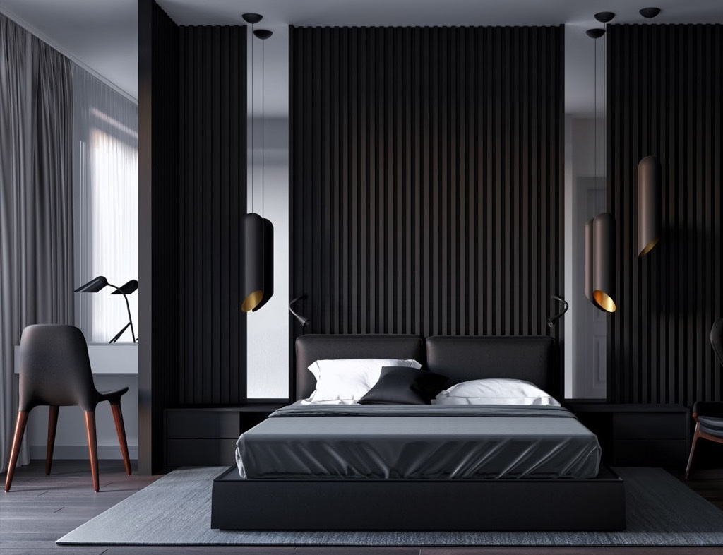 32 beautiful black bedrooms with images tips